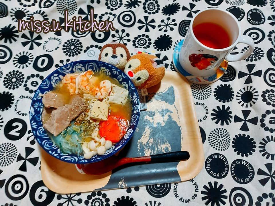 燃脂蔬菜海鮮牛肉湯